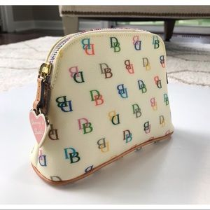 Dooney & Bourke cosmetic case (NWOT)